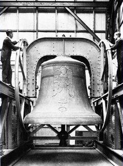 Die berühmte Bourdon Bell in der River-Side-Church Manhattan
