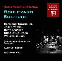 Weil-Libretto zu Henz-Oper-Boulevarde Solitude