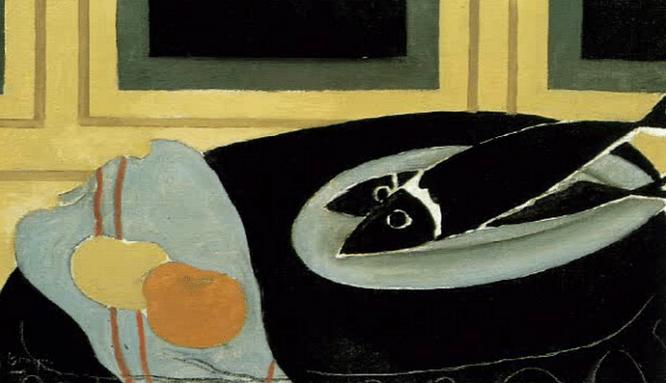 George Braque - Der Fisch - Gemälde - Glarean Magazin