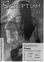 Literaturzeitschrift SCRIPTUM Nr. 23 - Cover