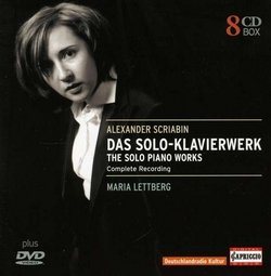 Maria Lettberg (Piano): Das Solo-Klavierwerk von Alexander Scriabin (Skrjabin) - The Solo Piano Works - Complete Recording (Capriccio)