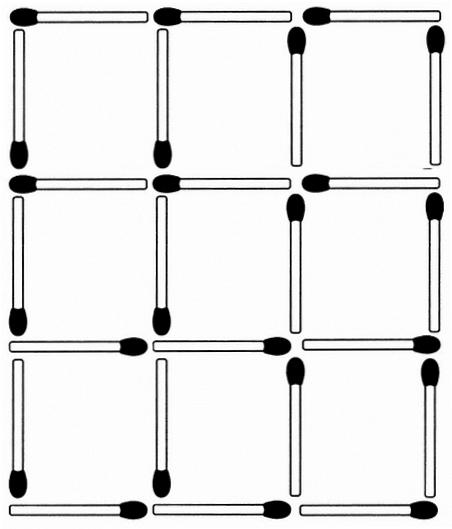 Das neue Streichholz-Rätsel (Dezember 2009)