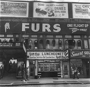New York in den 40er Jahren: Der Union Square