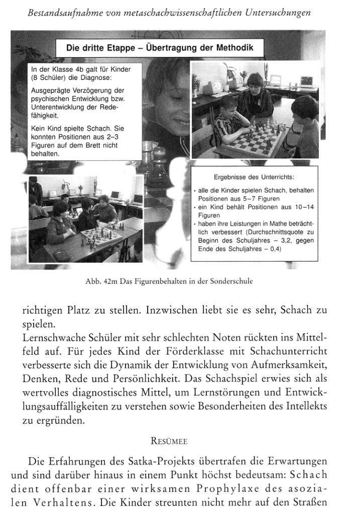Bönsch - Klüger durch Schach - Studien zum Kinder- und Schulschach - Leseprobe 2