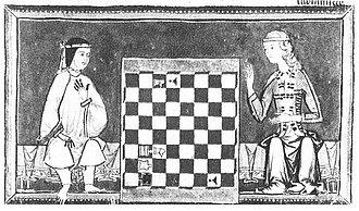 Schach-Studien kennt die Welt schon seit alters her; hier ein Detail aus dem