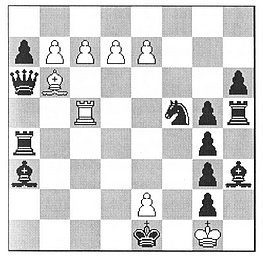 Per Olin: White to play and draw (Moskau 1975)