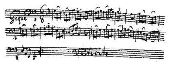 «Rockgitarrenriffs, die Lord Zeppelin sicher alle Ehre gemacht hätten...»: Gigue aus Bachs 1. Cello-Suite (Abschrift durch Anna Magdalena Bach)
