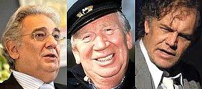 Unverwechselbare Reife der Stimme: Placido Domingo, Heinz Reincke, Christian Kohlund