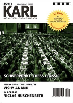 KARL - Das kulturelle Schachmagazin - 10 Jahre Jubiläum (Ausgabe 2-2011)