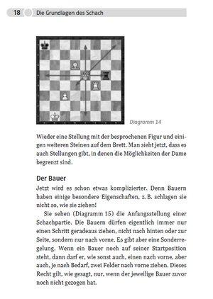 """Die Grundlagen des Schachs eingehend erklärt in der """"Kleinen Schachschule"""" von Jonathan Carlstedt"""