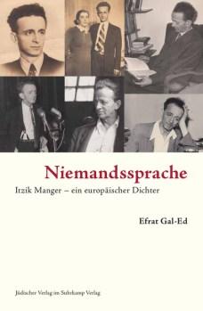 Niemandssprache - Itzik Manger – ein europäischer Dichter - Suhrkamp - Cover