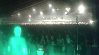 """""""Sieg Heil Sieg Heil !"""" - Versteckte Aufnahmen des Neonazi-Rockkonzertes in Unterwasser (St.Gallen) 2016 (Quelle: BLICK-Video - Screenshot)"""
