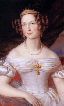 Sorgte in Weimar für Aufsehen und Aufregung: Die russische Großfürstin Anna Pawlowna
