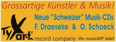 TYX-Art - Record Company - The MusicArt Label - Grossartige Künstler & Musik