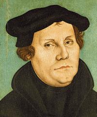 Martin Luther (1483-1546 - Lucas Cranach d.Ä.)