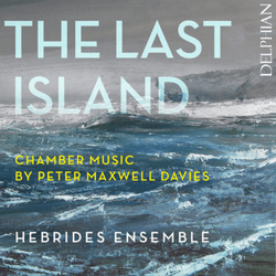 The last Island - Cover - Delphian Records