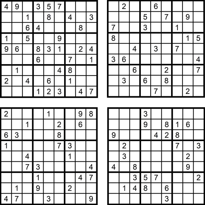 Das Sudoku Quartett Im März 2018 Glarean Magazin
