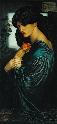Dante Gabriel Rossetti: Proserpine (Persephone)