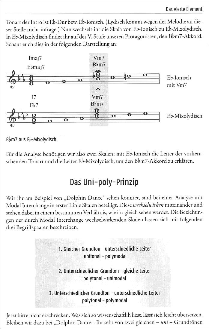 """Auch komplexere Harmonik-Strukturen werden in """"Rock & Jazz Harmony"""" von Mathias Löffer anschaulich erläutert"""