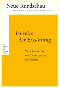 Neue Rundschau - Jenseits der Erzählung - Buch-Rezension Glarean Magazin