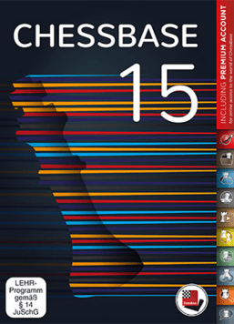 Chessbase-15 - Cover - Rezension Glarean Magazin