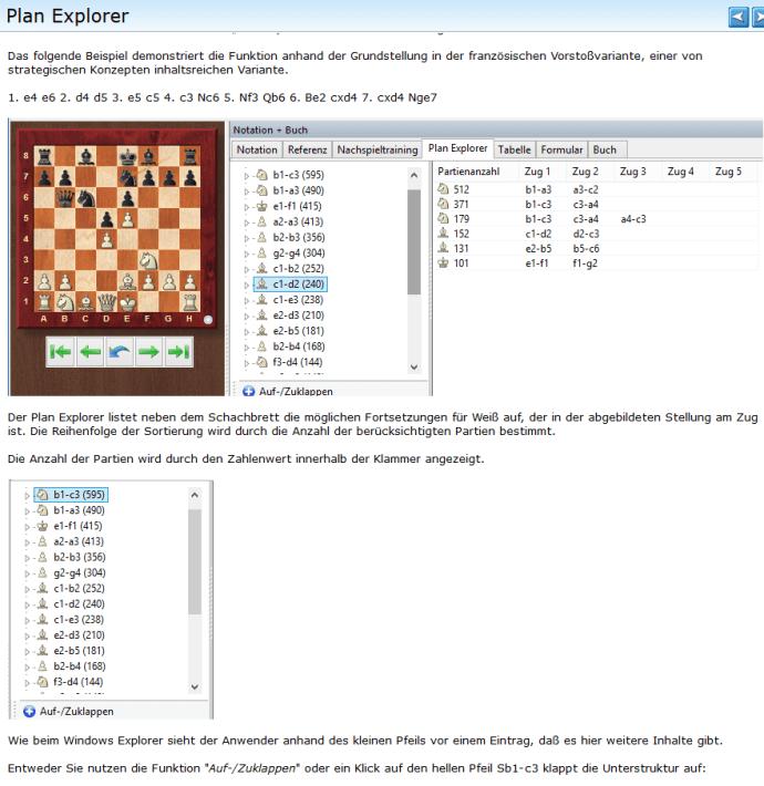 Chessbase-15 - Plan Explorer - Rezension Glarean Magazin