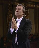 Abbado nach der Aufführung von Brahms' Requiem im Wiener Musikverein am 3. April 1997