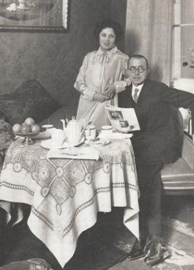 Carola Neher und Klabund (Alfred Henschke) 1930 - Glarean Magazin