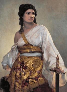 Judith - Gemälde von August Riedel 1840 - Glarean Magazin