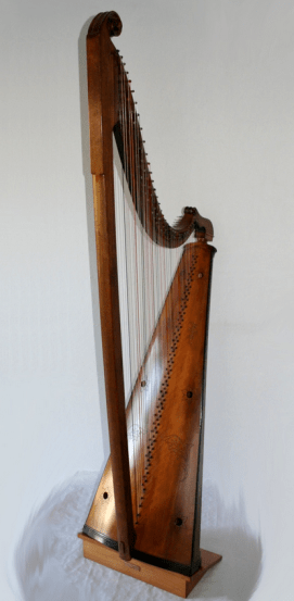 Walisische Tripelharfe - Tim Hampson - 18. Jahrhundert - Glarean Magazin