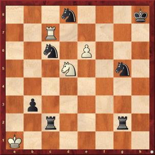 Schach-Mansube 10. Jahrhundert - Matt in 3 Zügen - 1. Th7 - Glarean Magazin