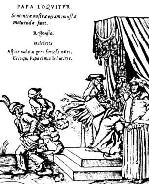 Lucas Cranach 1545 - Furzen auf die Obrigkeit - Glarean Magazin