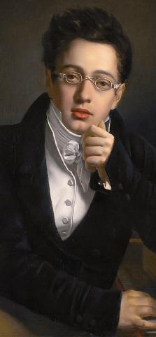 Komponist Franz Schubert in jungen Jahren (Josef Abel) - Glarean Magazin