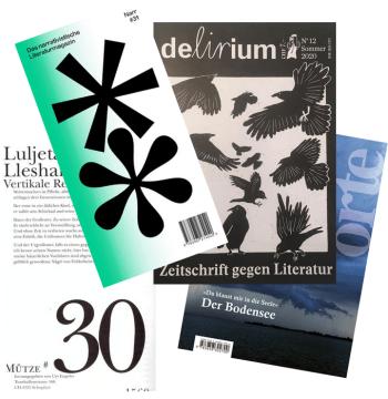 Schweizer Literaturzeitschriften - Orte - Delirium - Narr - Mütze - GLAREAN MAGAZIN