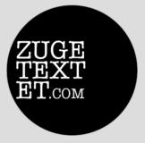 Zugetextet - Literaturzeitschrift - Logo