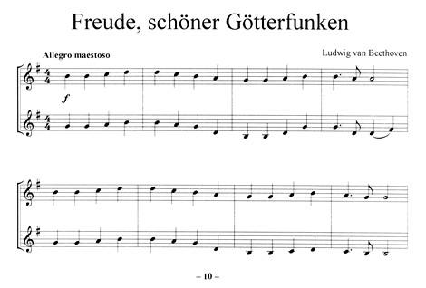 Leseprobe 1: Freude schöner Götterfunken (Beethoven)