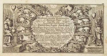 Melchior Mattsbergers «Biblische Figur-Sprüche»