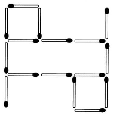 Das neue Streichholz-Rätsel (Oktober 2007)