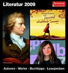 Harenberg: Literatur 2009 - Autoren - Werke - Buchtipps -Leseproben