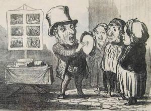 Daumier: Le dernier joueur du tambour de basque