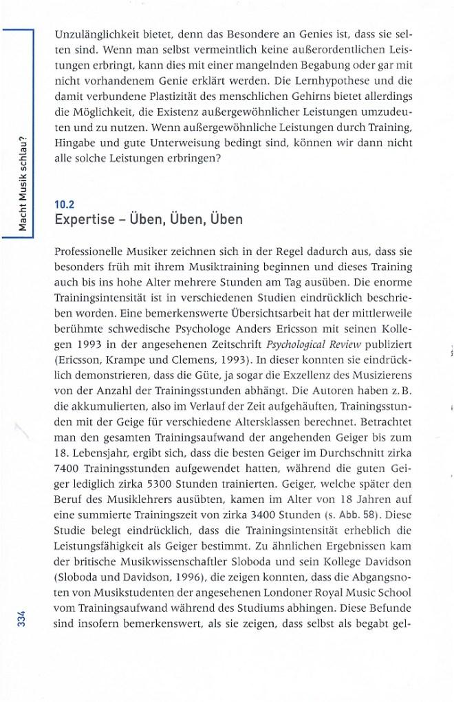 """Leseprobe 1 aus Lutz Jäncke: """"Macht Musik schlau""""? - Neue Erkenntnisse aus den Neurowissenschaften und der kognitiven Psychologie - Huber Verlag"""