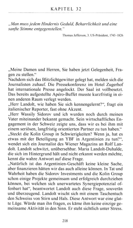 Leseprobe 2 aus Thomas Brändle: Das Geheimnis von Montreux (Krimi)