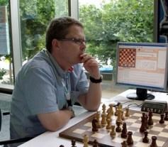 Schach-Programmierer Stefan Meyer-Kahlen bei der Arbeit