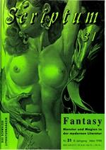 Literaturzeitschrift SCRIPTUM Nr. 31 - Cover