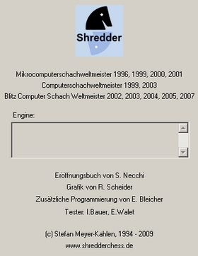 Shredder 12_Impressum