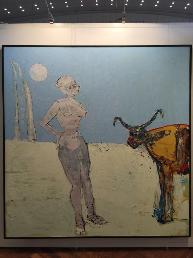 John Kiki - Daphne   Galerie Wahrenberger