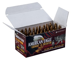 Federal American Eagle Varmint Predator Bulk