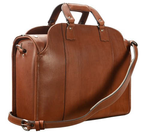 Hand-burnished,-espresso-Deal-Bag;-18-x-12-x-6'-back