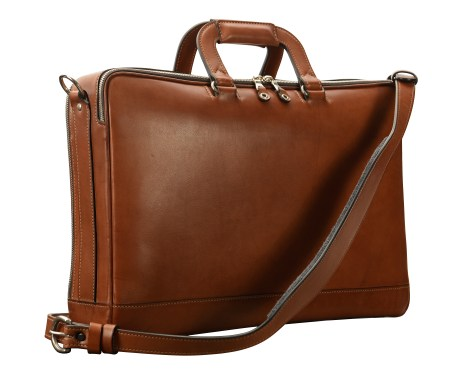 Hand-burnished-espresso-Soft-Attache;-17-x-12-x-4'-back
