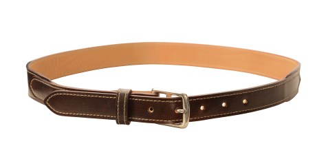 Hand-grained,-hand-colored-sienna-Belt-with-natural-leather-lining